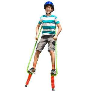 HearthSong Jump2It Adjustable Ergonomic Bouncy Pogo Stilts for Kids