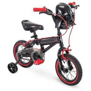 Huffy 72188 Star Wars Darth Vader 12 Inch Toddler Boys Bike with Training Wheels, Black