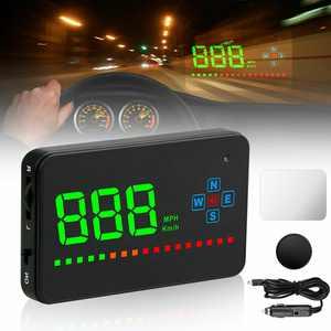 "TSV 3.5"" Universal GPS Speedometer Head Up Display Car Overspeed Tired Warning Alarm"