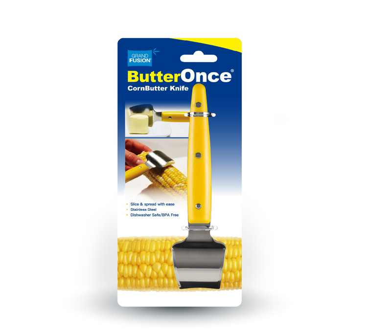 Grand Fusion ButterOnce Corn Butter Knife