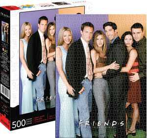 Aquarius - Friends Cast - 500 Piece Jigsaw Puzzle