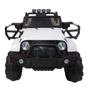 Clearance!!!Kids Ride on Car, Children 12V Battery Powered Electric Ride On Car w/ 2.4 GHZ Bluetooth Parental Remote Control, LED Lights, Double Open Doors, Safety Belt, Music, MP3, Spring Suspension