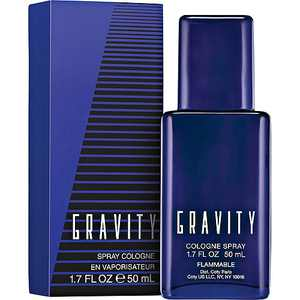 Gravity Cologne Spray for Men, 1.7 fl oz