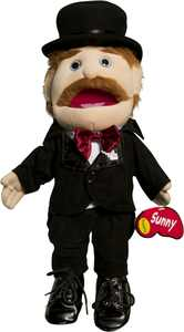 Sunny Toys GL1307 14 In. Dad Magician, Glove Puppet