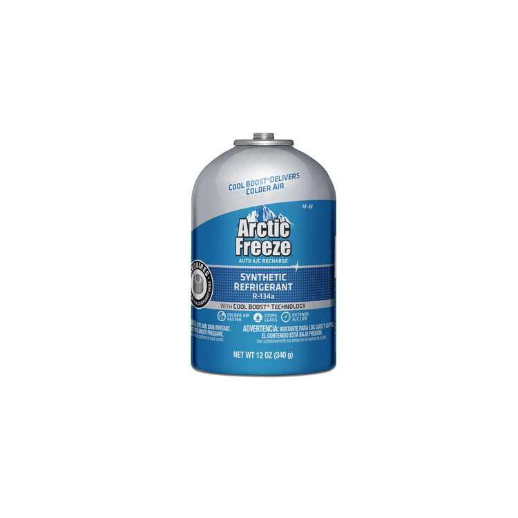 Arctic Freeze Auto A/C Recharge Synthetic Refrigerant R-134a