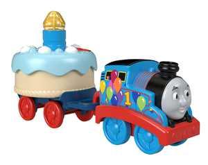 Thomas & Friends Birthday Wish Thomas, Musical Push-Along Toy Train