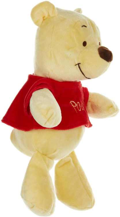 Disney Baby Winnie The Pooh Stuffed Animal Plush with Jingle & Crinkle Sounds, 12 Inches, 100% polyester By Kids Preferred