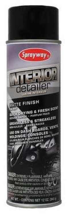 SPRAYWAY SW780 Interior Detailer,Net 12 Oz.