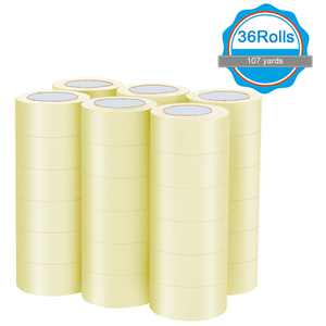 "36 Rolls Clear Carton Box Shipping Packing Package Tape 1.9""x110 Yards (330 ft)"