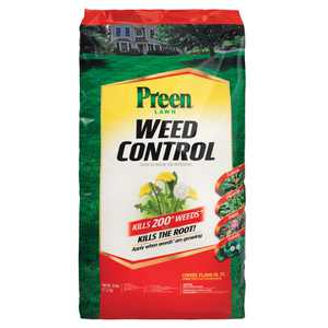 Preen Lawn Weed Control - 30 lb. - Covers 15,000 sq. ft.
