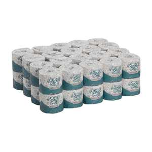 Georgia-Pacific Angel Soft Professional Series Premium 2-Ply Embossed Toilet Paper, 16840, 450 Sheets per Roll, 40 Rolls per Case