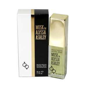 Alyssa Ashley Musk Eau De Toilette Spray 1.7 Oz / 50 Ml for Women by Alyssa Ashley