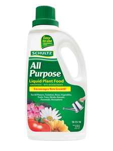 Schultz 32oz All Purpose Liquid Plant Food 10-15-10