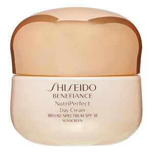 ($90 Value) Shiseido Benefiance NutriPerfect Day Cream SPF 18, 1.7 Oz