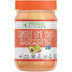 Primal Kitchen Chipotle Lime Mayo Avocado Oil Real Mayonnaise, 12 fl oz