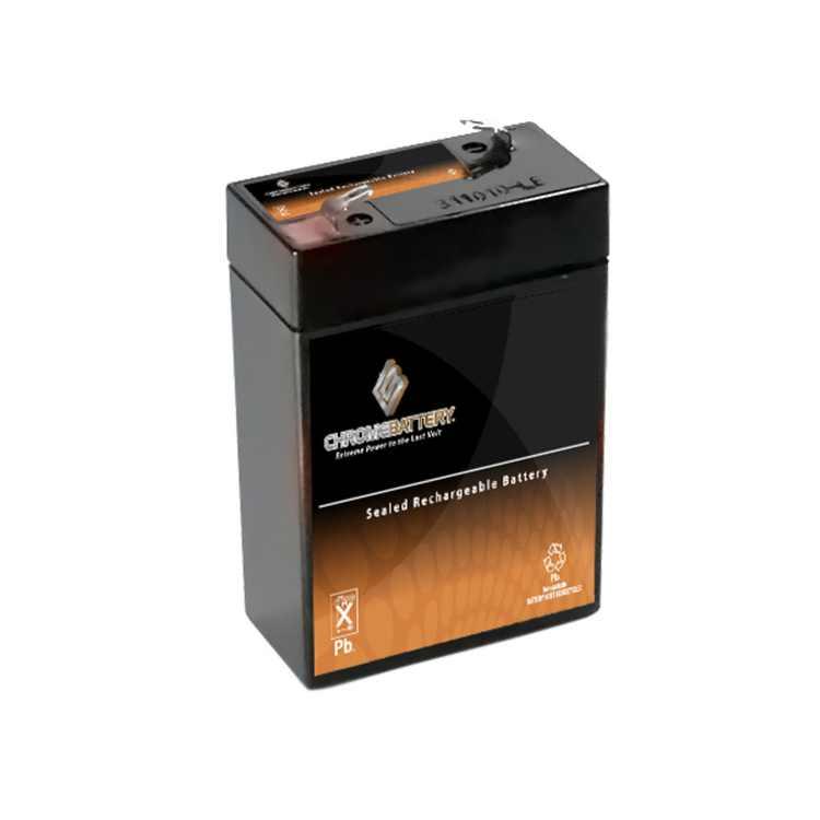 Chrome Battery 6V (6 Volt) 4.5Ah Sealed Lead Acid (SLA) Battery for AGM