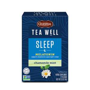 Celestial Seasonings TeaWell Chamomile Mint Wellness Tea, 12 Ct Tea Bags