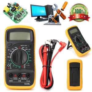 Electrical Digital Multimeter LCD Voltmeter Volt OHM Tester AC DC Multi Meter