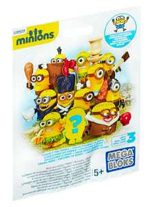 Mega Bloks Minions Micro Action Figures Mystery Pack