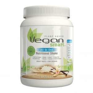 Naturade Vegansmart All-In-One Nutrititional Protein Shake, Vanilla, 15 Serving
