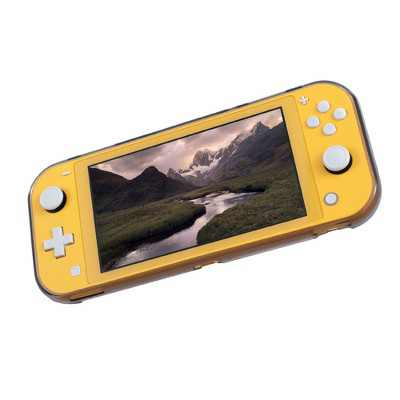 Protective Case for Nintendo Switch Lite 2019, Soft TPU Grip Cover with 4 Game Card Slots Holder, Comfort Ergonomic Handles by Insten