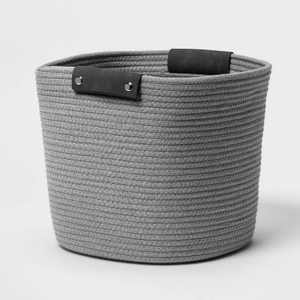 """13"""" Coiled Rope Gray - Threshold™"""