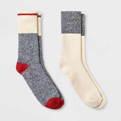 Men's Camp Socks 2pk - Goodfellow & Co - 10-13