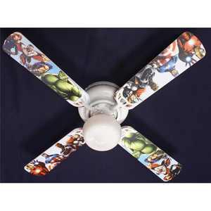 Ceiling Fan Designers 42FAN-KIDS-AVNG 42 in. Avengers Marvel Capitan America Ceiling Fan