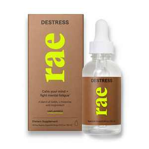 Rae Destress Dietary Supplement Ingestible Drops - Unflavored - 1.9 fl oz