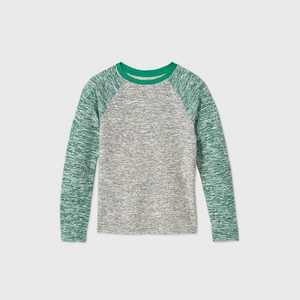 Boys' Hacci Cozy Pullover - Cat & Jack Green