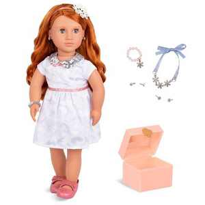 "Our Generation 18"" Doll with Jewelry Box & Pierced Ears - Julissa"