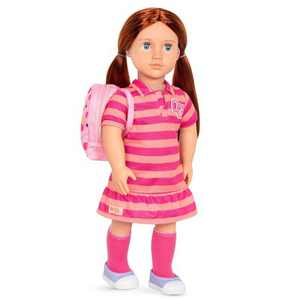 "Our Generation 18"" Doll with School Bag - Kimmy"