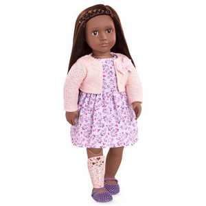 """Our Generation 18"""" Doll with Prosthetic Leg - Suzee"""