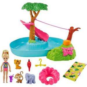 Barbie and Chelsea the Lost Birthday Splashtastic Pool Surprise Playset