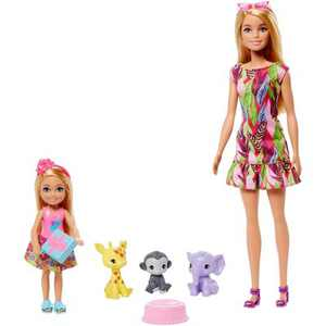 Barbie and Chelsea the Lost Birthday Dolls and Pets Story Set