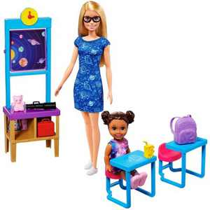 ​Barbie Careers Space Discovery Dolls & Science Classroom Playset