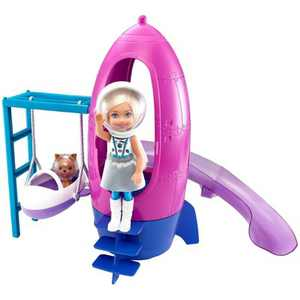 Barbie Space Discovery Chelsea Doll & Rocketship-themed Playset