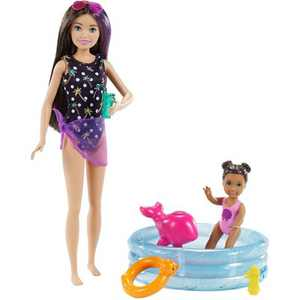 Barbie Skipper Babysitters Inc Dolls and Playset - Pool