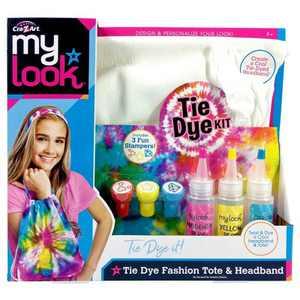 My Look Tie Dye Fashion Tote & Headband by Cra-Z-Art
