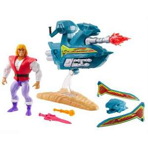 Masters of the Universe Sky Sled & Prince Adam