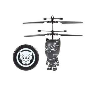 """World Tech Toys Marvel Black Panther  3.5""""  Flying Figure IR Helicopter"""