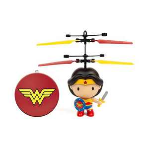 """World Tech Toys DC Wonder Woman 3.5"""" Flying Character UFO Helicopter"""