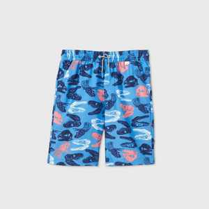 Boys' Dino Head Print Swim Trunks - Cat & Jack Blue