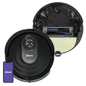 Shark AI VACMOP Wi-Fi Connected Robot Vacuum and Mop with Self-Cleaning Brushroll - RV2001WD