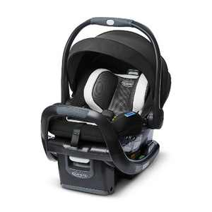 Graco SnugRide SnugFit 35 DLX Infant Car Seat Featuring Safety Surround - Jacks