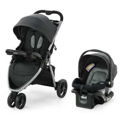 Graco Pace 2.0  Travel System with SnugRide Infant Car Seat - Oakton