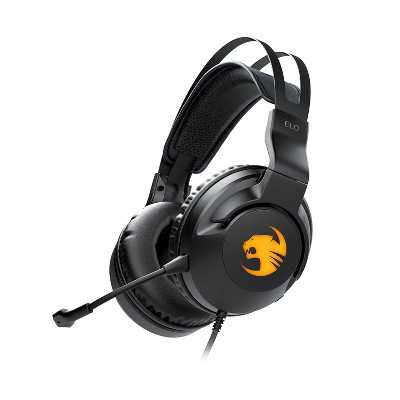 Roccat ELO 7.1 USB Surround Sound Gaming Headset for PC - Black