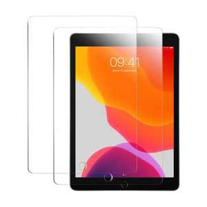 """Insten 2-Pack Ultra-clear Tempered Glass Screen Protector Compatible with Apple iPad 10.2"""" 7th Generation"""