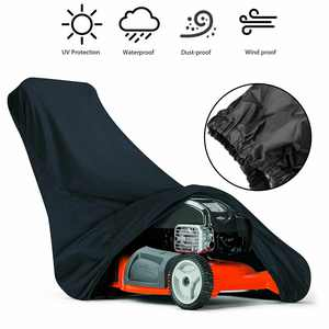 """Lawn Mower Storage Cover, EEEKit Weatherproof Storage Slip On Cover, fits Lawn Mowers with a deck up to 75"""",Water/ UV Resistant"""