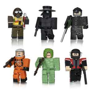 Roblox Action Collection - Apocalypse Rising 2 Six Figure Pack (Includes Exclusive Virtual Item)